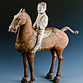 Cavalryman, <b>Western</b> <b>Han</b> <b>dynasty</b>, 206 BCE - 24 CE