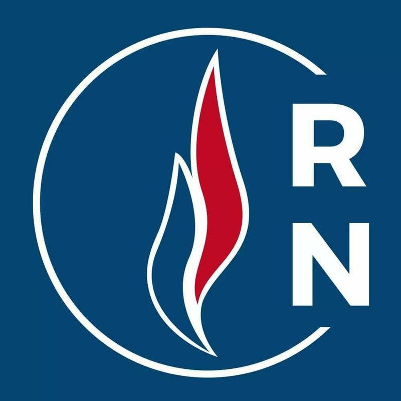 Logo RN bleu