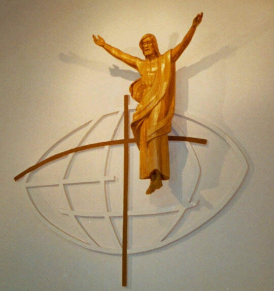 Christ ressuscité, Jacques Bourg