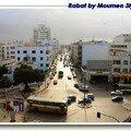 Vue sur Rabat Centre Ville