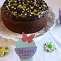 Gâteau très moelleux au cacao et crème de coco + merci véro