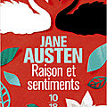 Raison et sentiments, de Jane Austen
