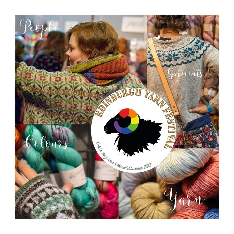 Copyright Photo : Edinburgh Yarn Festival