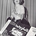 18/12/1956 Marilyn Usherette pour Baby Doll