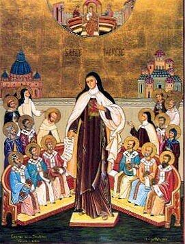 Icône de Sainte Thérèse, Docteur de l'Eglise