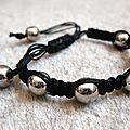 Bracelets style shamballa tibétain