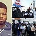 <b>Irlande</b> : Un homme armé d'un couteau abattu par la police alors qu'il menaçait des passants, les militants noirs protestent, la