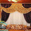 <b>Rideau</b> salon marocain impressionnant