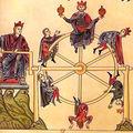 Iconographie médiévale de la roue de fortune