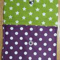 05. violet et vert - pois et étoiles - intérieur