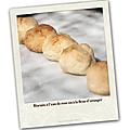 Biscuits à l'eau de rose ou à la fleur d'oranger