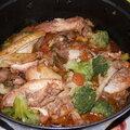 Cocotte de poulet & légumes