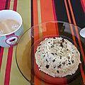 Bowl cake au pépite de chocolat