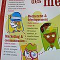 Illustration d'un livret pédagogique / agence KCC / Paris
