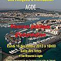 Réunion publique sur le <b>PPRI</b> à Agde...