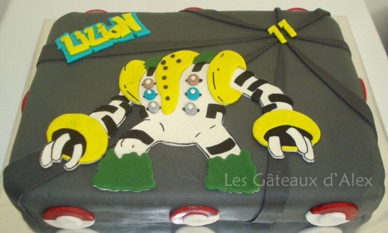 Gâteau Pokemon Regigias