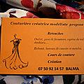 Couture et <b>retouches</b> à Balma près de Toulouse