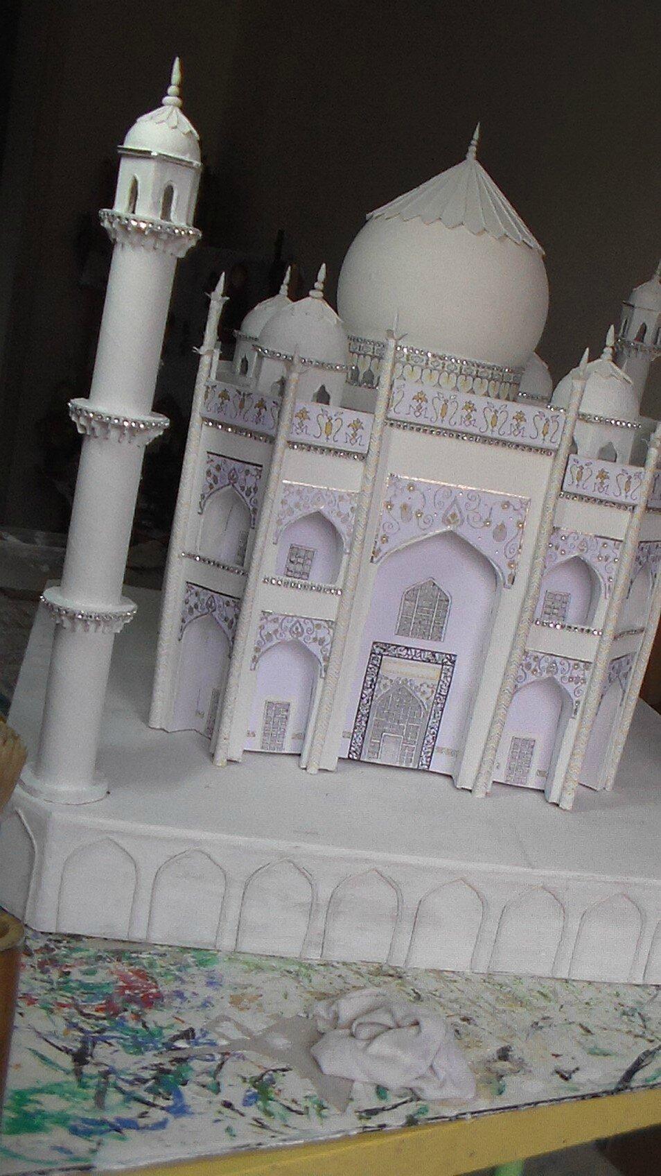 urne de mariage Taj Mahal