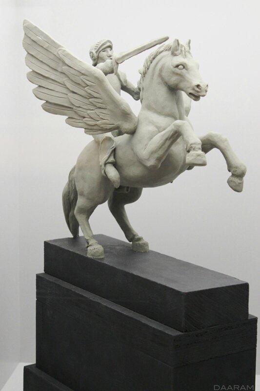 Statue of the Tsar Nicholas (scale model). «GoldenEye» 1995. Photo: Olivier Daaram Jollant © 2016