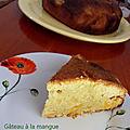 Gâteau de mangues