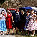 les lucky girls prennent la pose au rétro festival de la <b>cote</b> <b>d</b> <b>opale</b> à marquise