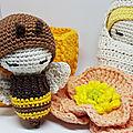 Adorables insectes au crochet