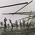 Exceptionnal: a multi-caber toss in 1934