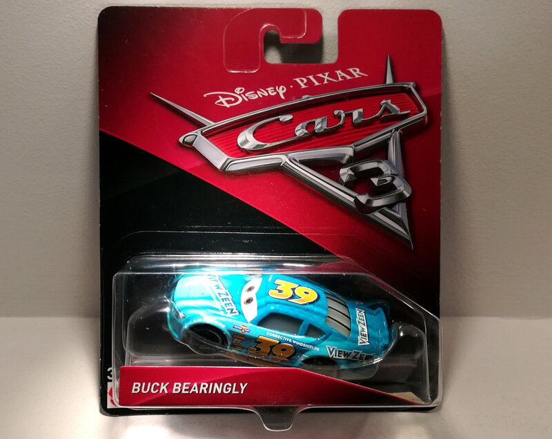 Buck Bearingly (Mattel Cars) 01