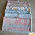 Une petite série de tapis à langer nomade 2 en 1