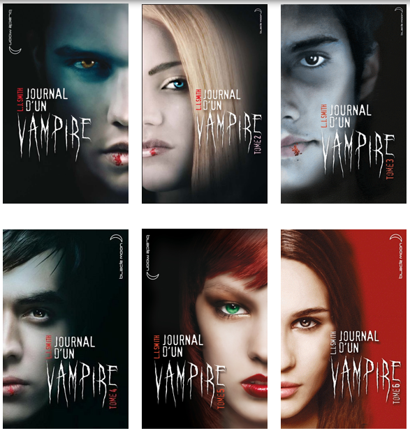 Journal d'un vampire – Tomes 1 à 6 epub + pdf