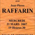 Jean pierre rafarin (ump) à saint james - mercredi 21 mars