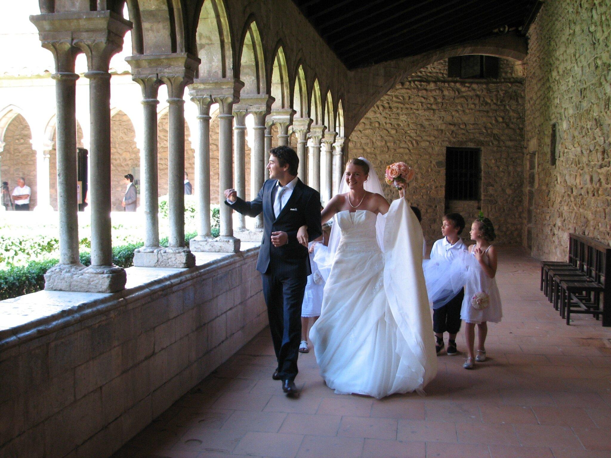 8 Ans hier, c'était le mariage de ma fille Adélaide,