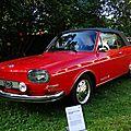 Volkswagen 411l cabriolet karmann 1968