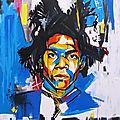 Jean-Michel <b>Basquiat</b>, l'enfant radieux aux pieds nus (jusqu'au 21 janvier 2019)