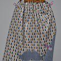 Serviettes élastiques en coton enduit