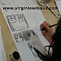 Stage de création d'une planche de Manga, du 2 au 6 mars 2015, Camphin en Carembault (59)