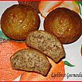 Muffins à la banane de ciorane