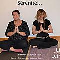 Linda Leininger Professeur de Yoga <b>certifié</b> WYA (World Yoga Alliance International)