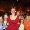 ...Gwenaëlle, Caroline, Emmeline, Marie et Emerick.