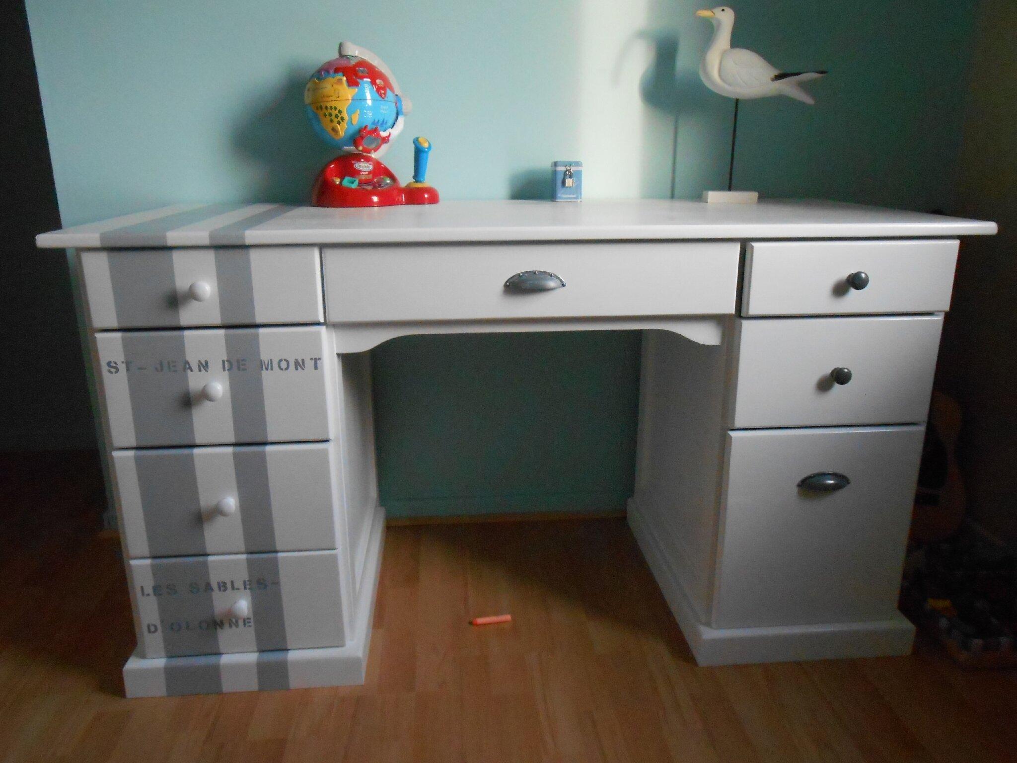 bureau - photo de chambre pour mon garçon 8 ans - les bricoles de stéph