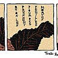 Strip poétique : texte: paul poule / dessin: gaspard oeuf
