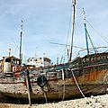Cimetière Bateaux, Bretagne - C_6658