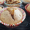 MUFFINS RAISINS BLONDS-NOIX
