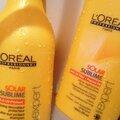 L'oréal professionnel - solar sublime shampoing et crème régénérante