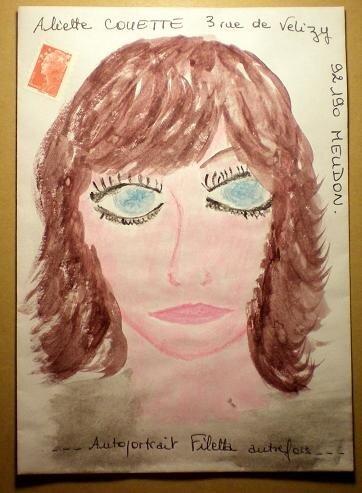 239~Portrait pour Aliette