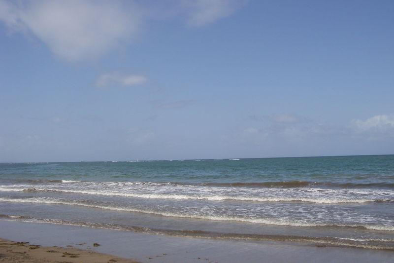 La mer côté atlantique