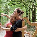 Langue quatre vents ritournelle harpe