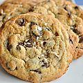 Cookies aux pépites au chocolat au tahin