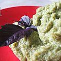 Purée de broccoli épicée