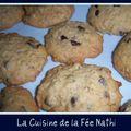 Cookies parfum caramel aux pépites de chocolat